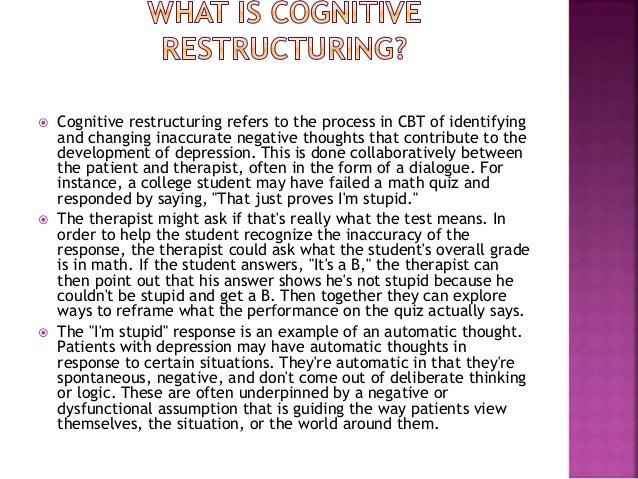 Cbt. depression