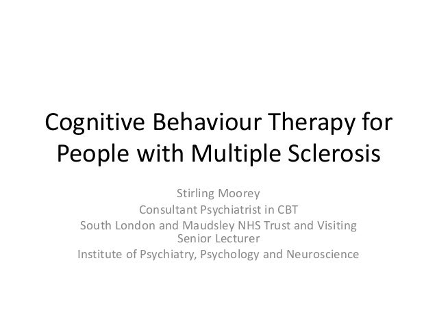 Thesis: Cognitive–Behavioral Therapy
