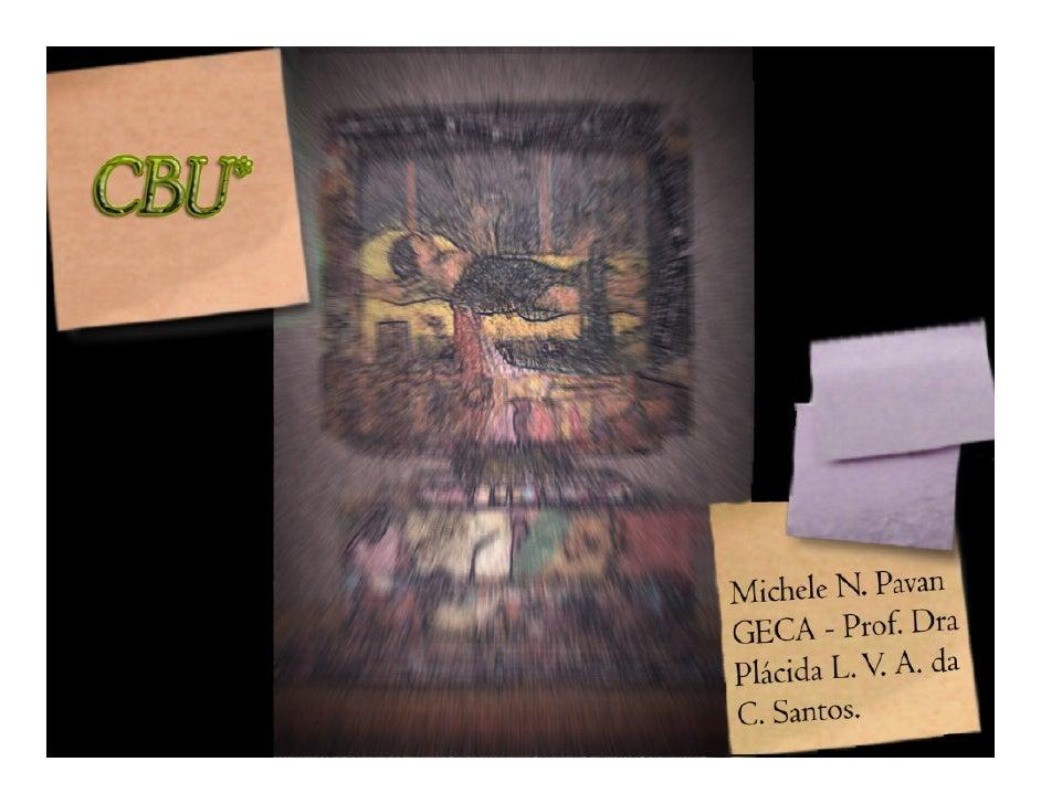 Resumo • O controle bibliográfico de um país ocorre   através do CBU, que funciona como um   catalisador de informações. E...