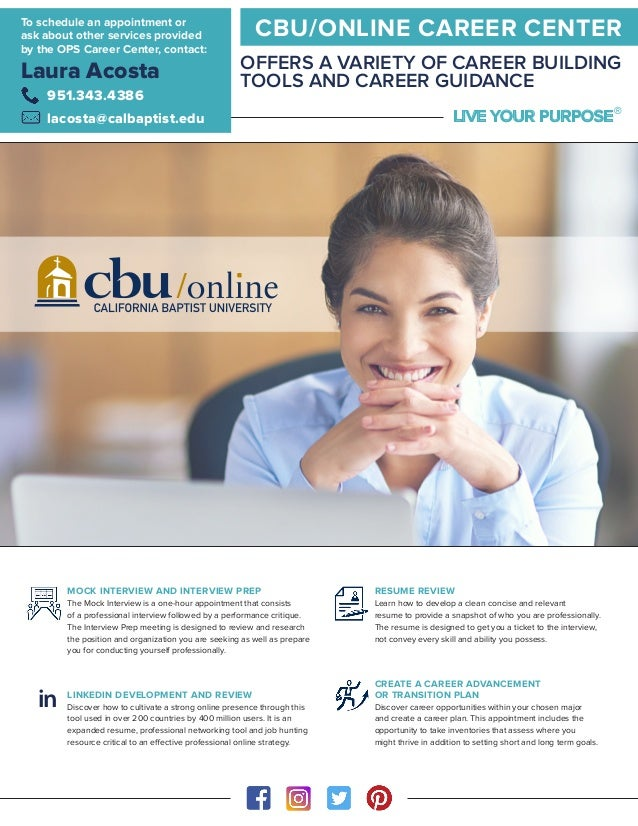 cbu online career center