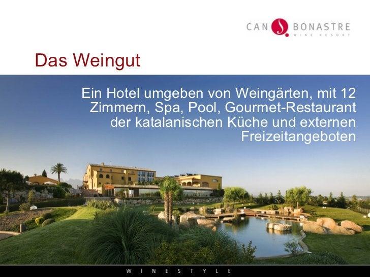 <ul><li>Ein Hotel umgeben von Weingärten, mit 12 Zimmern, Spa, Pool, Gourmet-Restaurant der katalanischen Küche und extern...