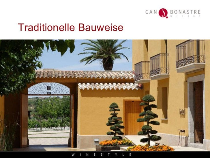 Traditionelle Bauweise