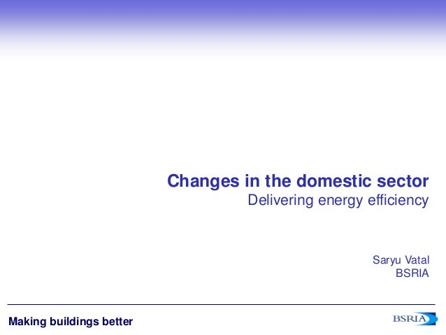domestic sector