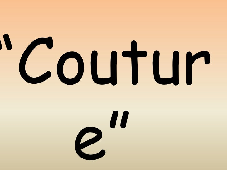 """Couture""<br />by trendy divva<br />"