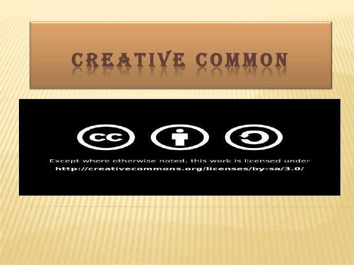 Creative common<br />