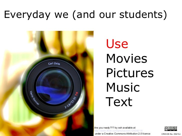 Creative Commons in the Classroom Slide 3