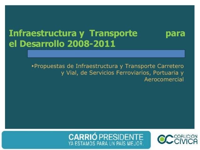 CC - Infraestructura y Transporte