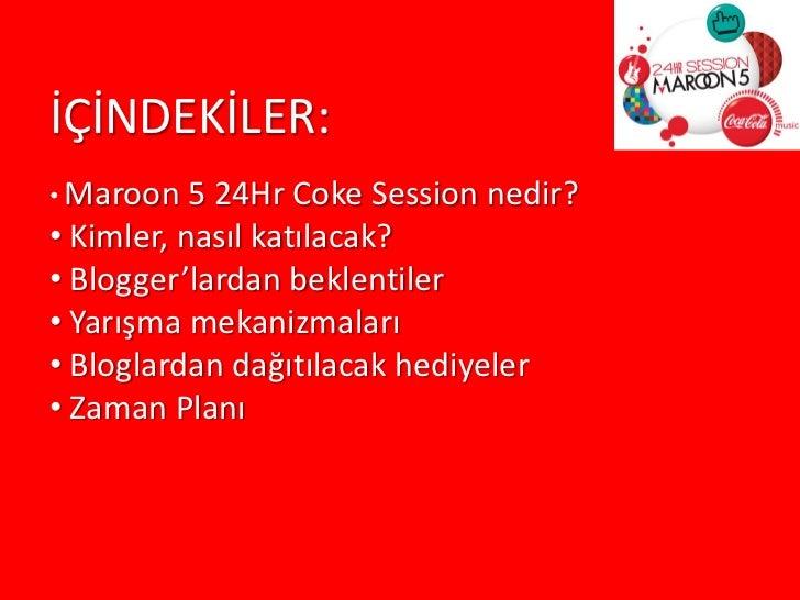 Maroon 5 İstanbul Konserinin Sosyal Medya Ayağı  Slide 2