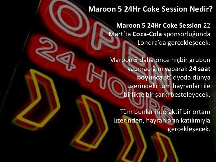 Maroon 5 İstanbul Konserinin Sosyal Medya Ayağı  Slide 3