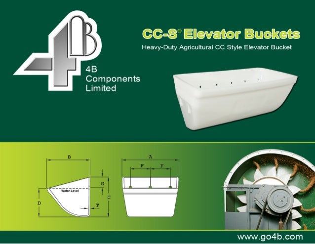 OverviewOverviewA unique patented design, the CC-S series is arange of heavy-duty elevator buckets designed tooutperform o...