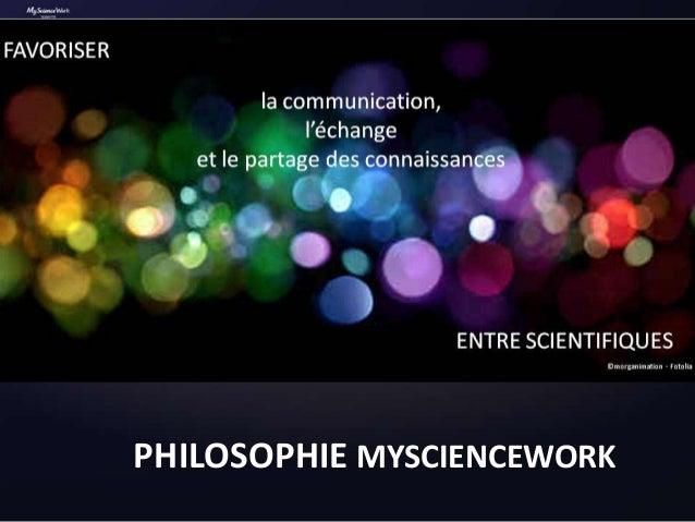 Présentation MyScienceWork 10 ans de creative commons Slide 2