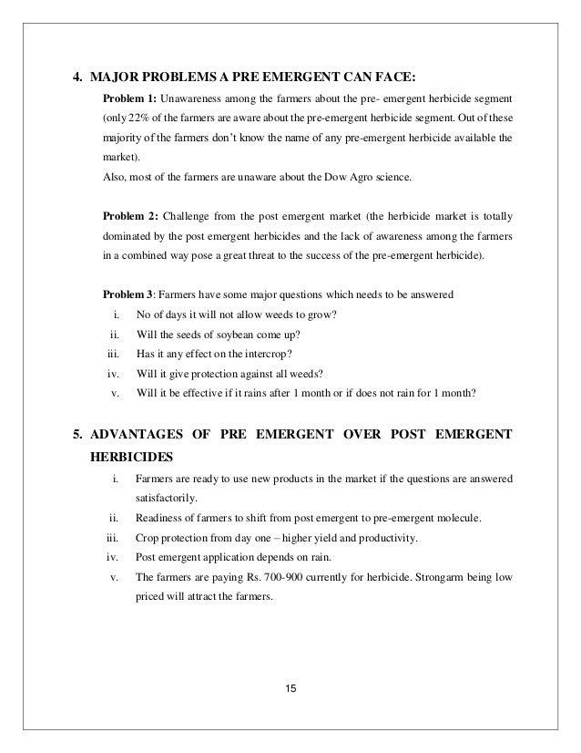 herbicide 21 - Preemergent Herbicide