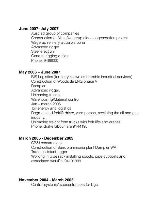 updated resume december 2015