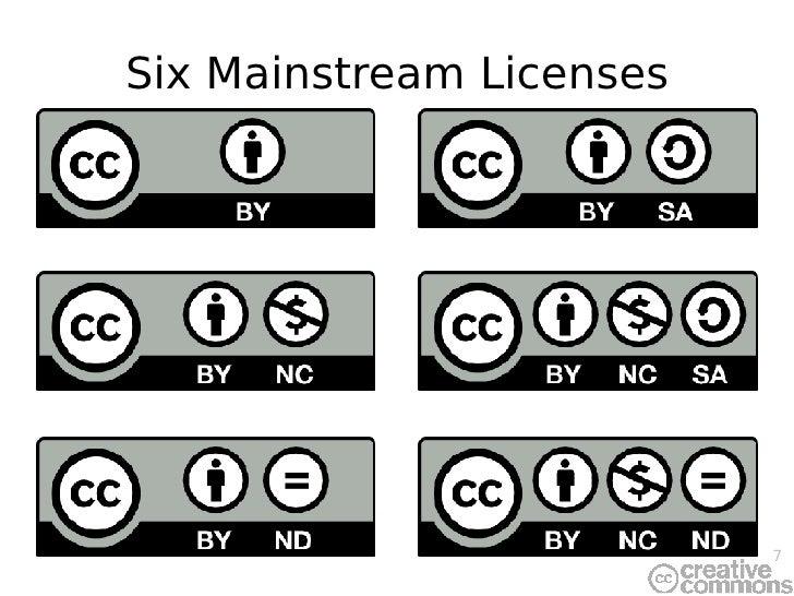 Six Mainstream Licenses