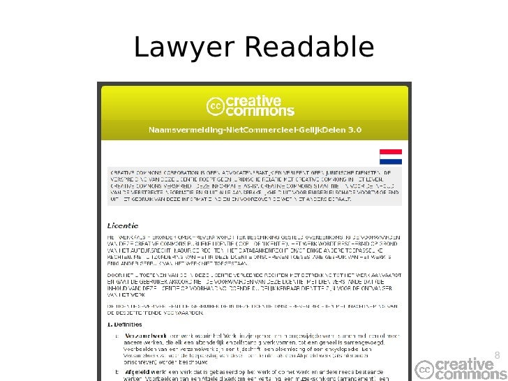 Lawyer Readable