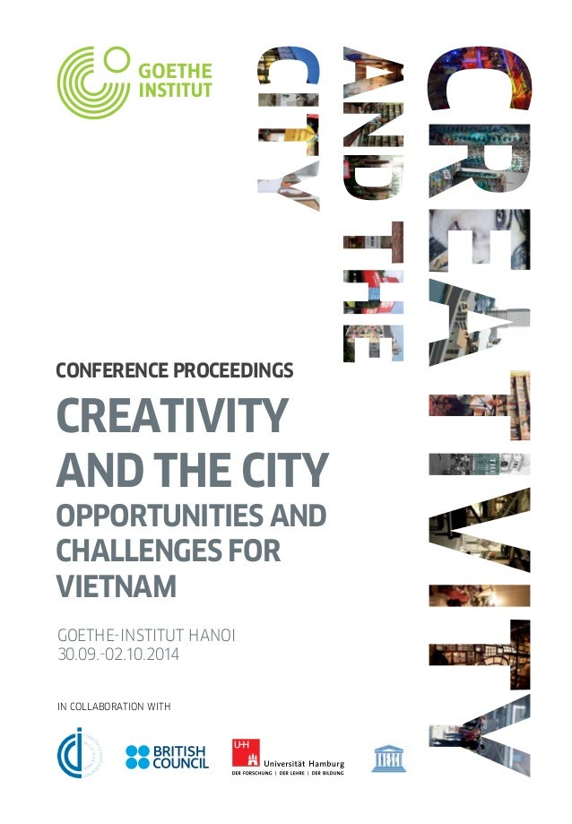 Creativity The City Conference Proceedings English