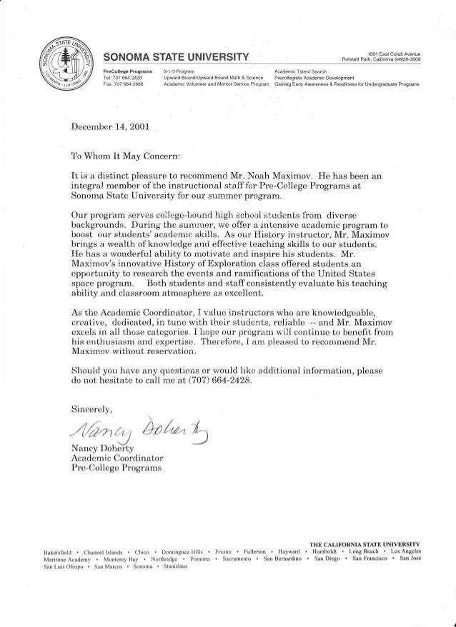ffi SONOMASTATEUNIVERSITY 1801EastCotatiAvenue BohnertPark,California94928-3609 Precollege Programs 3-1-3 Program Academic...