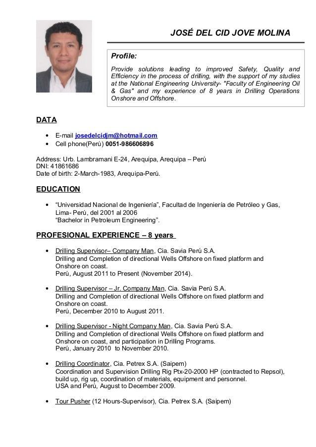 CV JOSE JOVE 11-2014