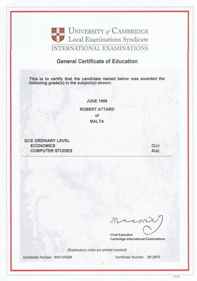 Certifactes
