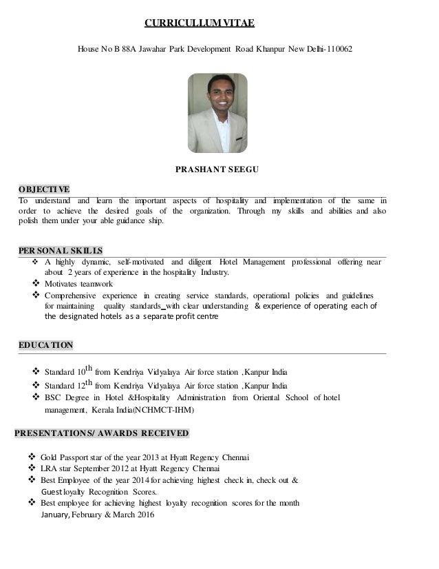 PRASHANT CURRICULLUM VITAE pdf
