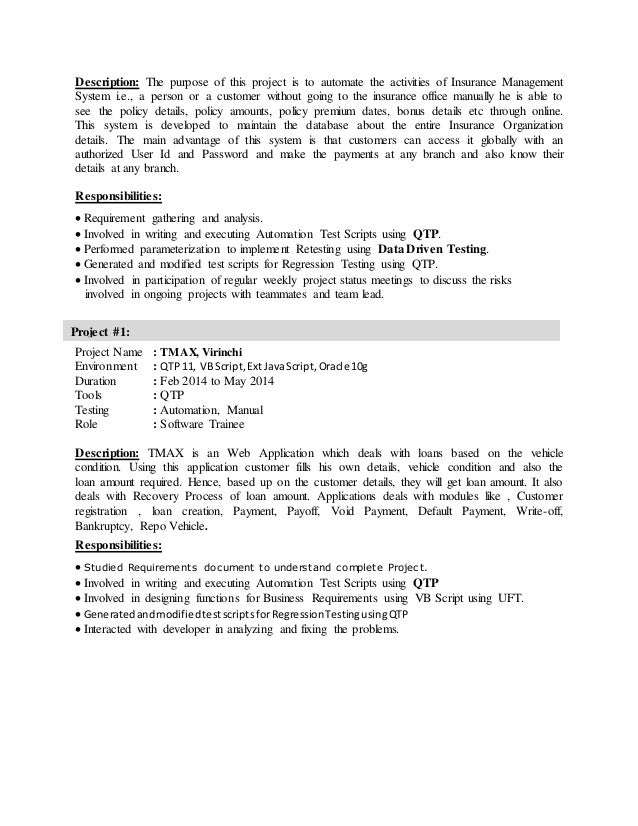 sample resume for qa tester qa tester resume sample one sample cv covering letter for job