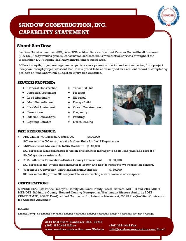 sandow capability statement 3 9 16 4600509. Black Bedroom Furniture Sets. Home Design Ideas