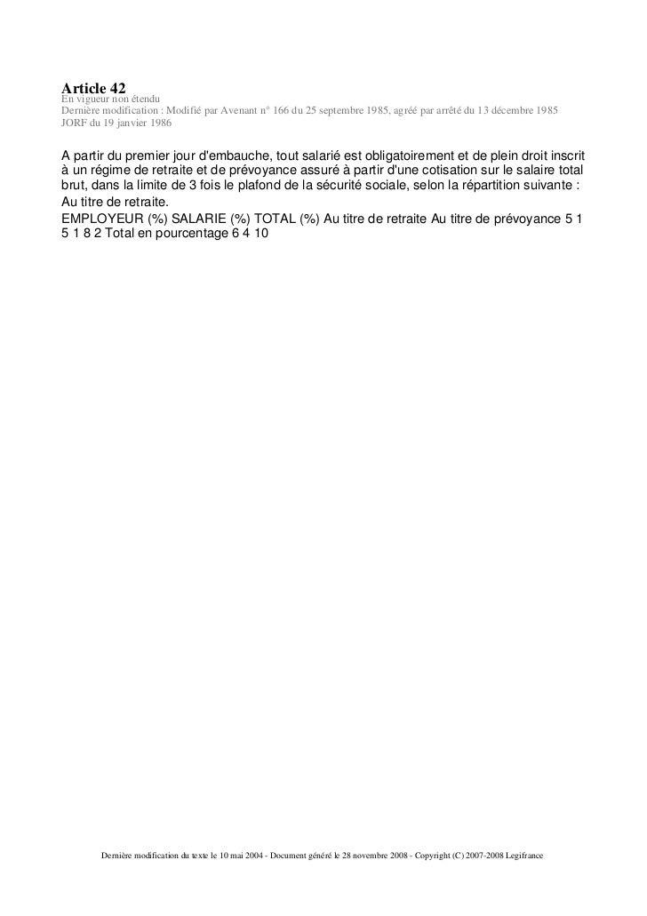 Cc66 - Plafond horaire de la securite sociale ...