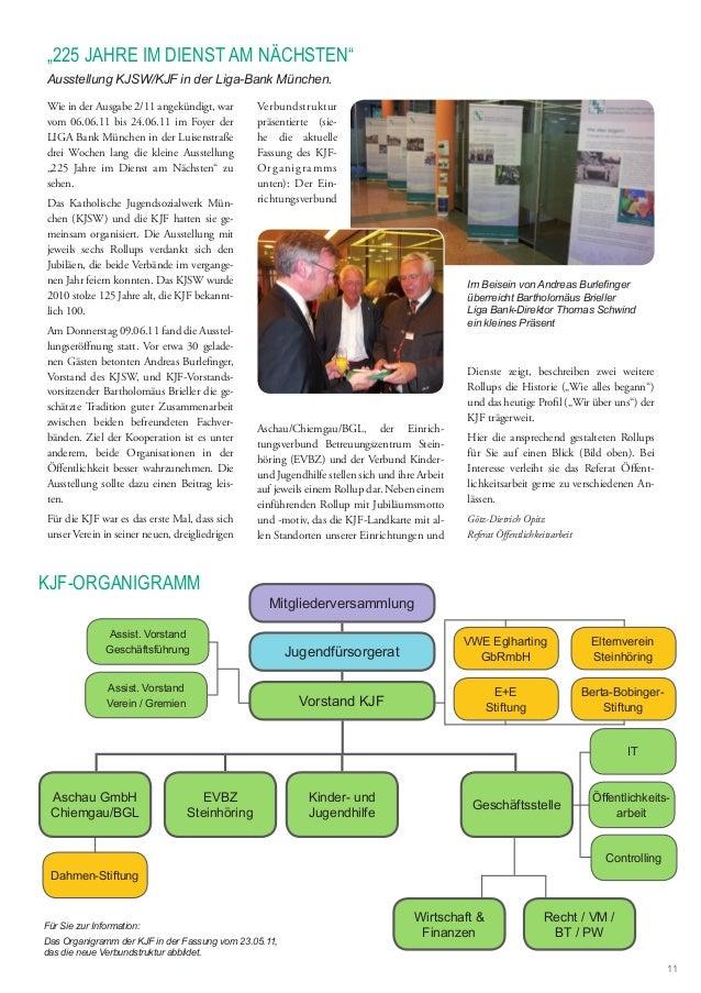 Wie in der Ausgabe 2/11 angekündigt, war vom 06.06.11 bis 24.06.11 im Foyer der LIGA Bank München in der Luisenstraße drei...