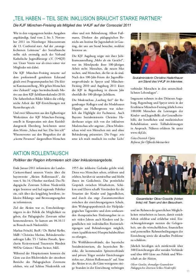 Wie in den vergangenen beiden Ausgaben angekündigt, fand vom 2. bis 3. Novem- ber 2011 im Nürnberger Messezentrum die 13. ...