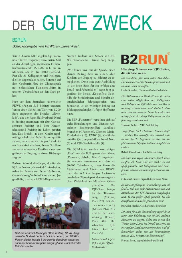 Corporate Magazine UNSERE KJF selection of articles 2009-2014