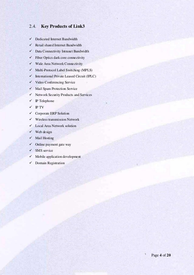 Organizational Behavioral practice in Link3 technologies ltd