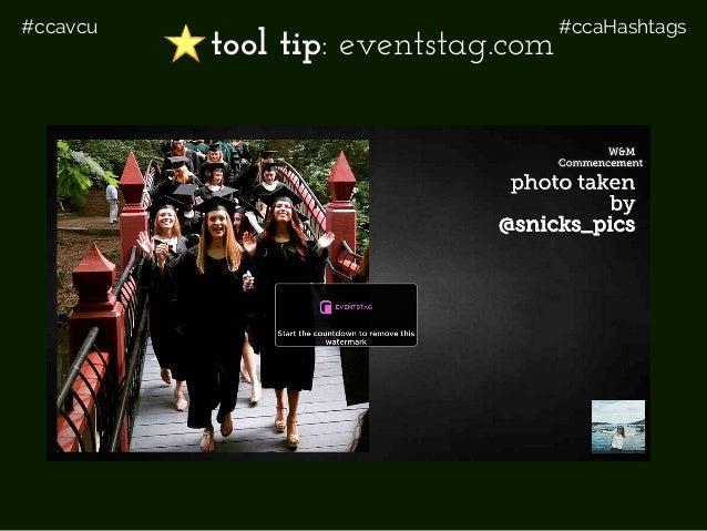 #ccavcu #ccaHashtags tool tip: eventstag.com