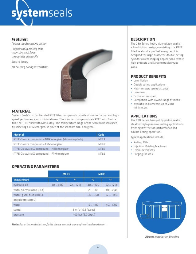 System Seals Forging Brochure