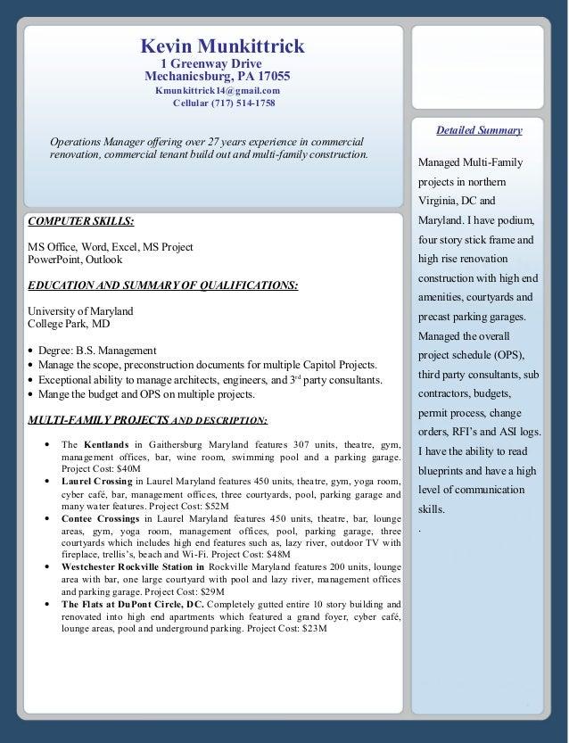 Munk Resume KM 10-8-16 KM 2