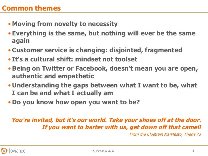 Social customer care: Understanding who you are Slide 3