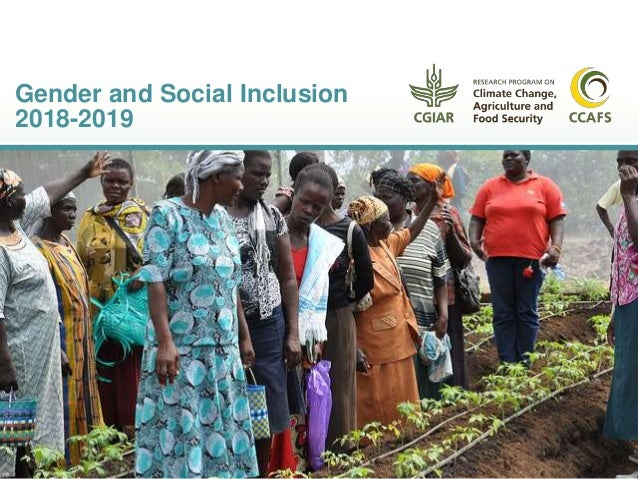 Gender and Social Inclusion 2018-2019
