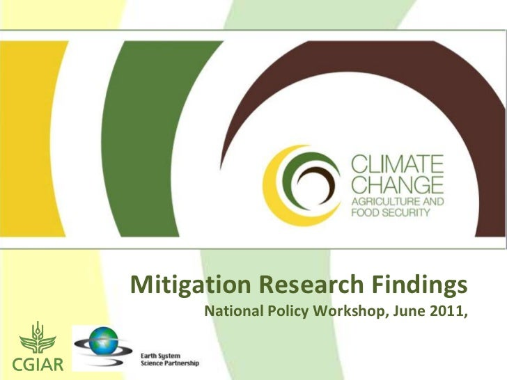 Mitigation Research Findings      National Policy Workshop, June 2011,