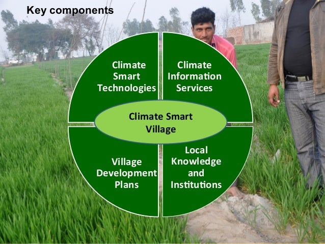 Key components      Climate           Climate   Smart   Informa<on   Technologies   Services   Cli...