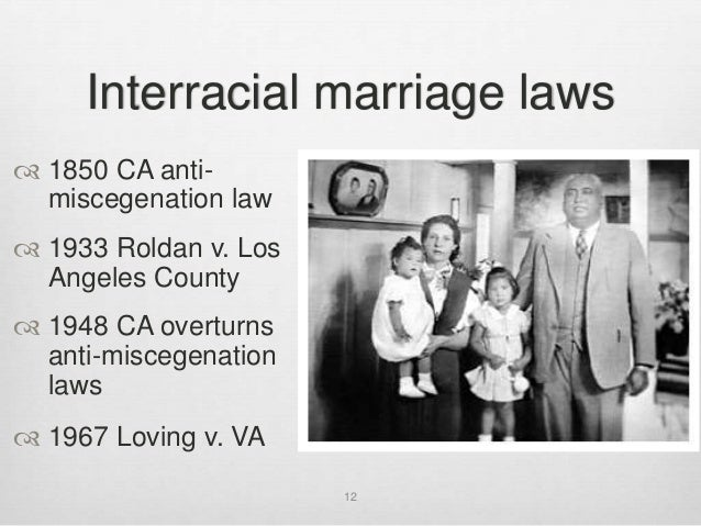 Have hit 1967 interracial law marriage overturned