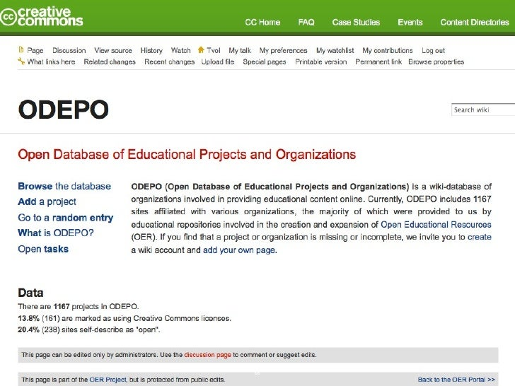 The OER movement is poised to greatly further  global access to and participation in education,       but only if a critic...