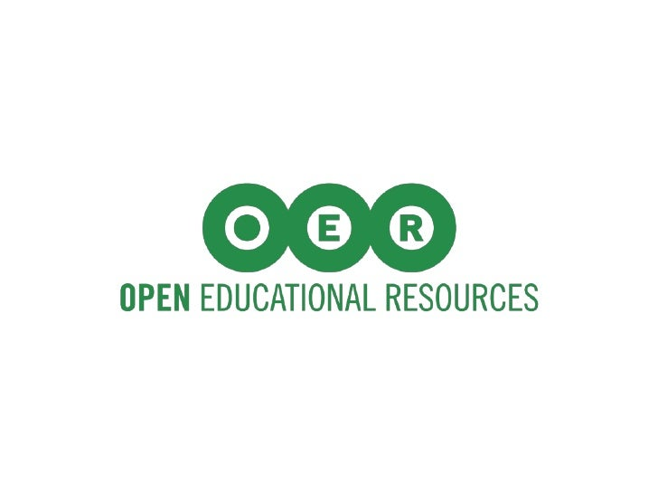 Open Educational Resources (OER) are learning materials that are freely available to use, remix,          and redistribute.