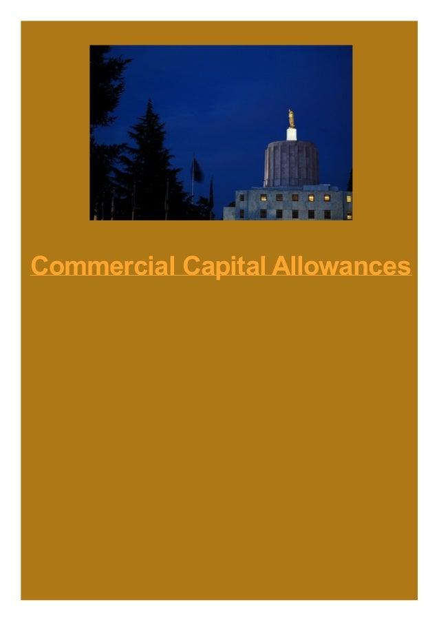 Commercial Capital Allowances