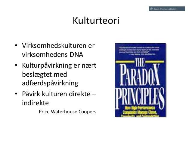 virksomhedskultur definition
