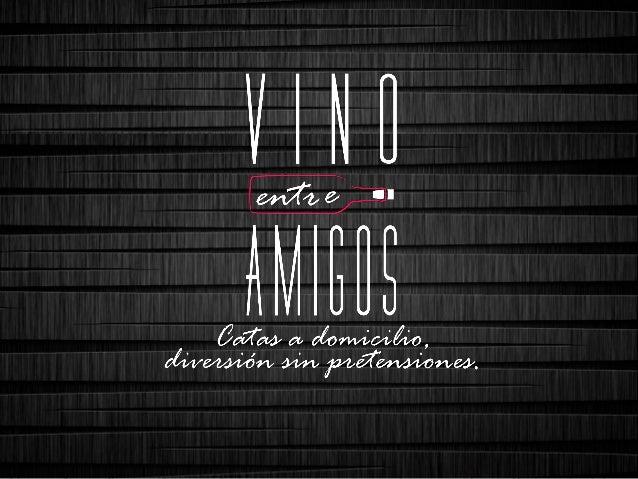 ¿Quiénes somos? • Somos un equipo de expertos en vino y destilados, dinámicos, innovadores, diversos, desenfadados • Quere...