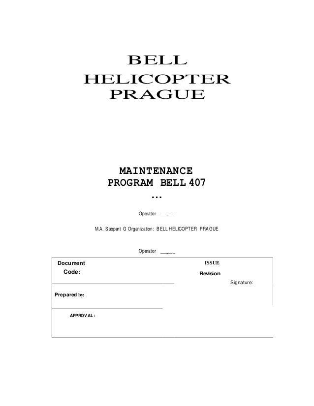 bell camo 407 sent rh slideshare net bell helicopter maintenance manual login bell 206 helicopter maintenance manual