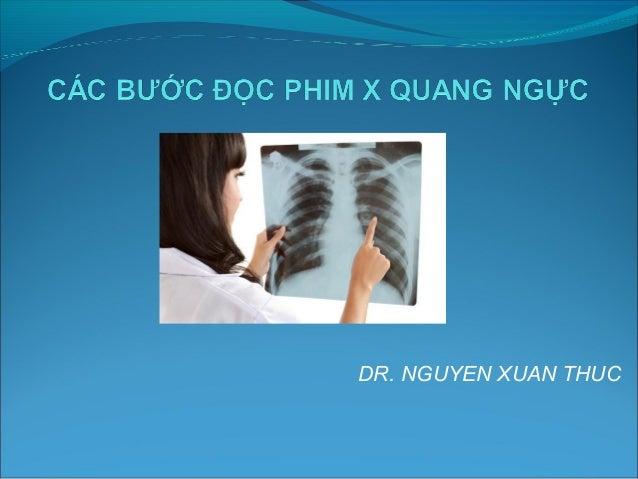 DR. NGUYEN XUAN THUC