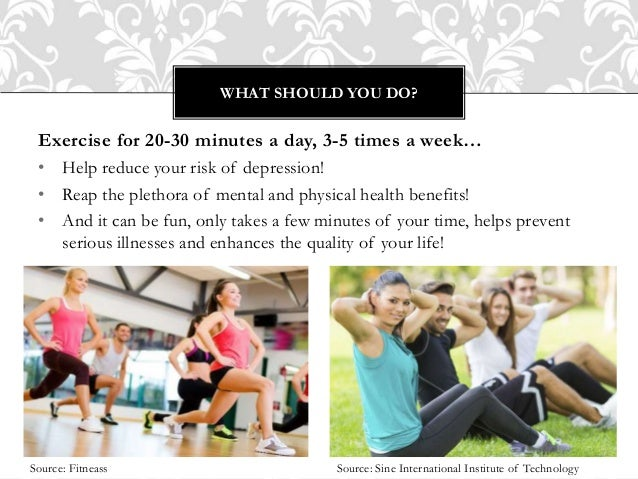 Informative speech on fitness