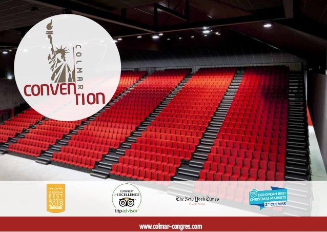 Colmar convention bureau mice presentation 2018