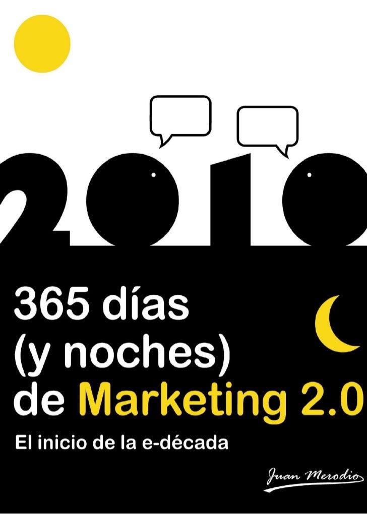 365 días (y noches) de Marketing 2.01
