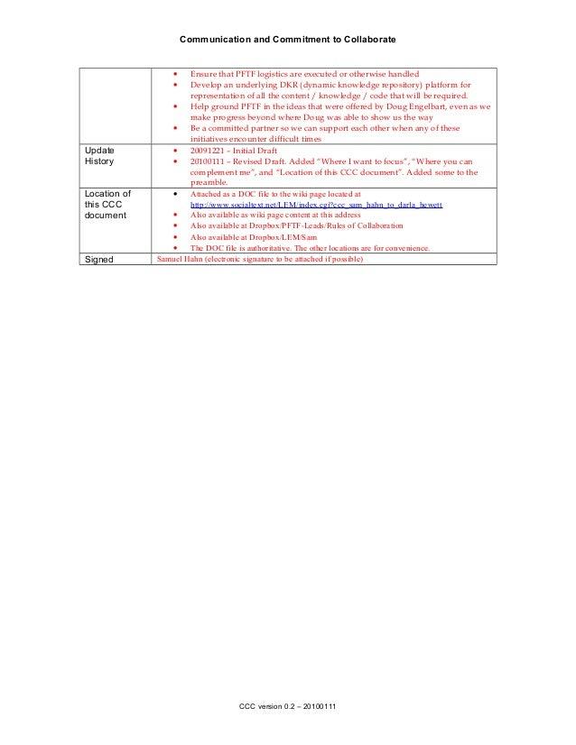 CCC - Sam Hahn to Darla Hewett Slide 2
